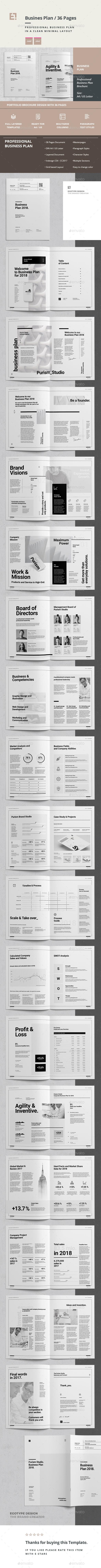 GraphicRiver Business Plan 20872294
