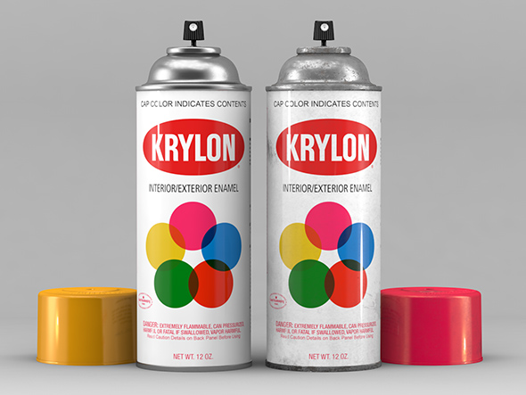 3DOcean Krylon Spray Can 20869608