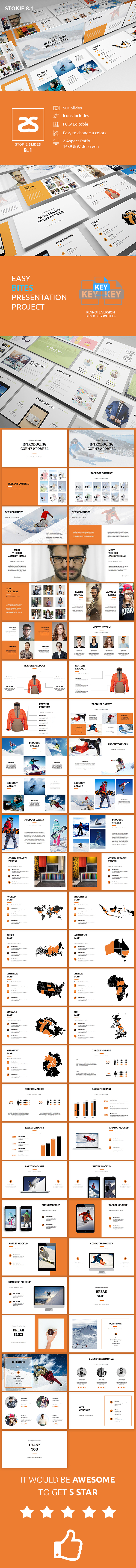 GraphicRiver Apparel Product Launching Keynote Template 8.1 20872350