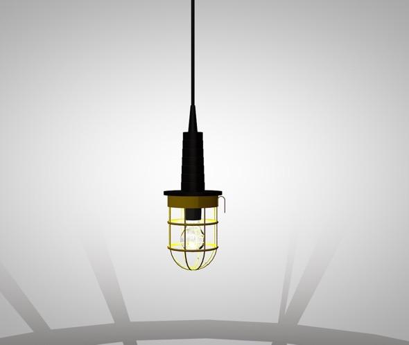 3DOcean pendant lamp 20872425