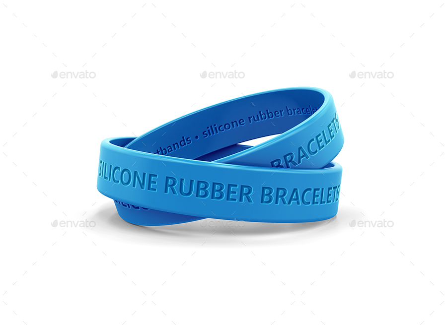 rubber read to bracelet p silicone love i