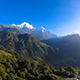 Sunrise timelapse from Ghandruk with Annapurna range - VideoHive Item for Sale
