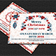 Christmas Postcard Templates