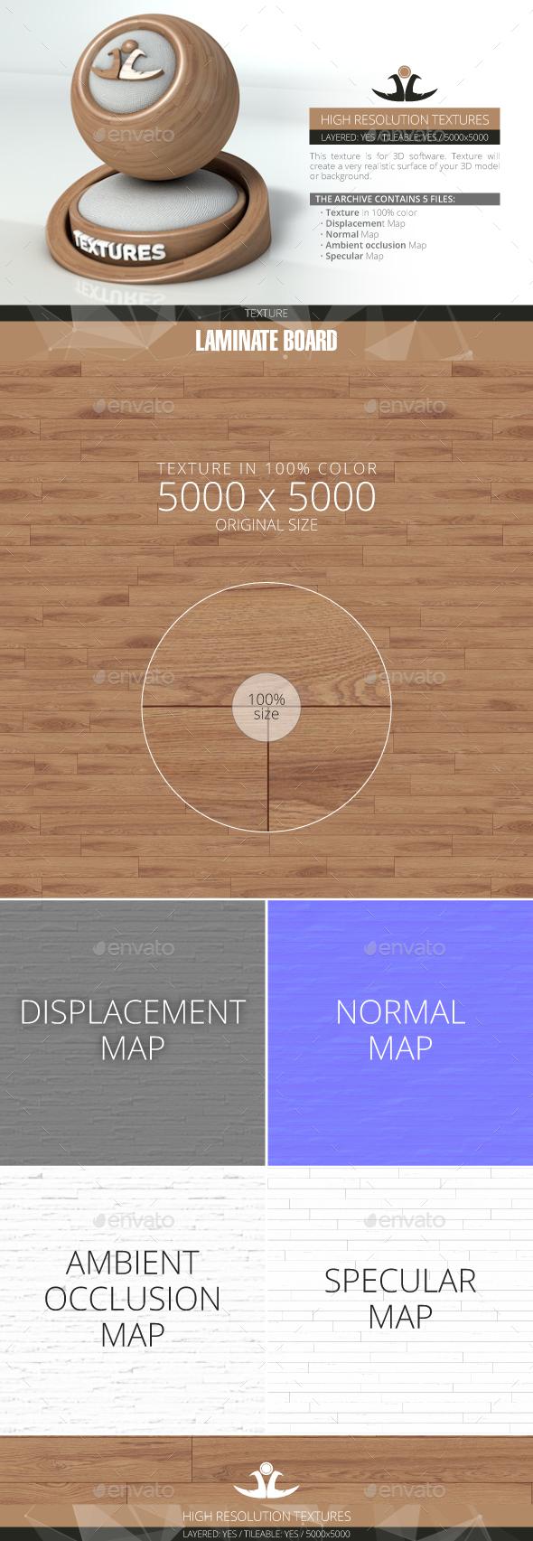 Laminate Board 40 - 3DOcean Item for Sale