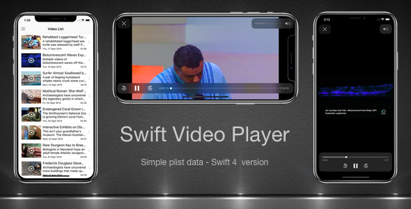 Swift Video Player - CodeCanyon Item for Sale