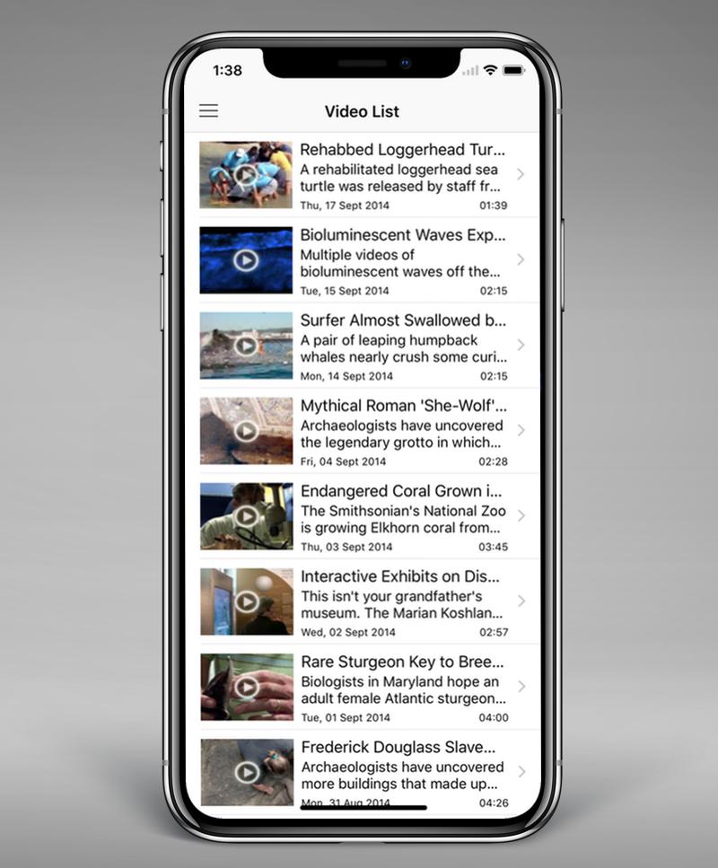 Swift Video Player