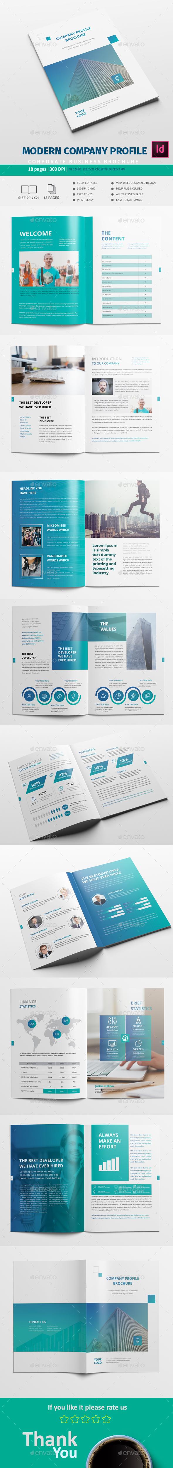 Creative Company Profile - Corporate Brochures