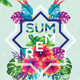 Exotic Summer Flyer - GraphicRiver Item for Sale
