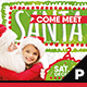 Meet Santa Flyer & Poster - GraphicRiver Item for Sale