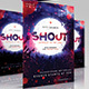 Shout Church Flyer - GraphicRiver Item for Sale