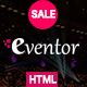 Eventor - Conference & Event HTML Template - ThemeForest Item for Sale