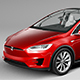 Tesla Model X 2017 - 3DOcean Item for Sale