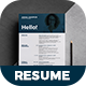 Resume - Cooper  - - GraphicRiver Item for Sale