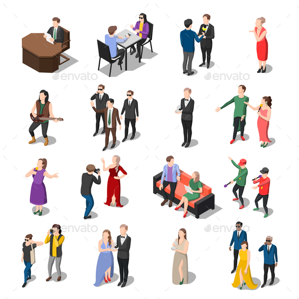 Television Show People Collection - People Characters