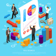 Business Infographic Conceptual Composition