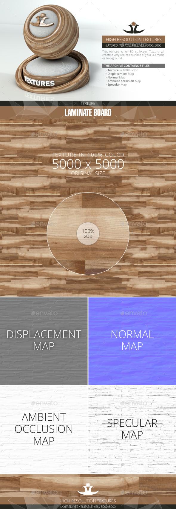Laminate Board 76 - 3DOcean Item for Sale