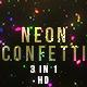 Neon Confetti - VideoHive Item for Sale