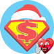 Super Santa Claus Logo Reveal - VideoHive Item for Sale