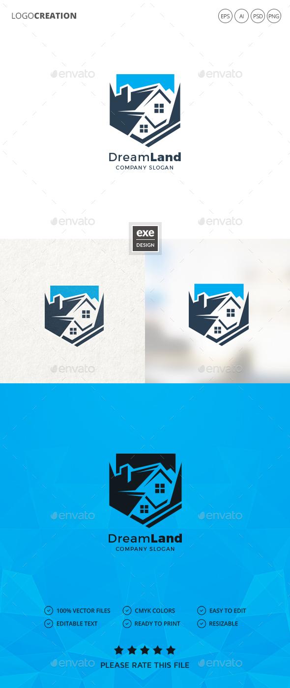GraphicRiver Real Estate Logo 20874567