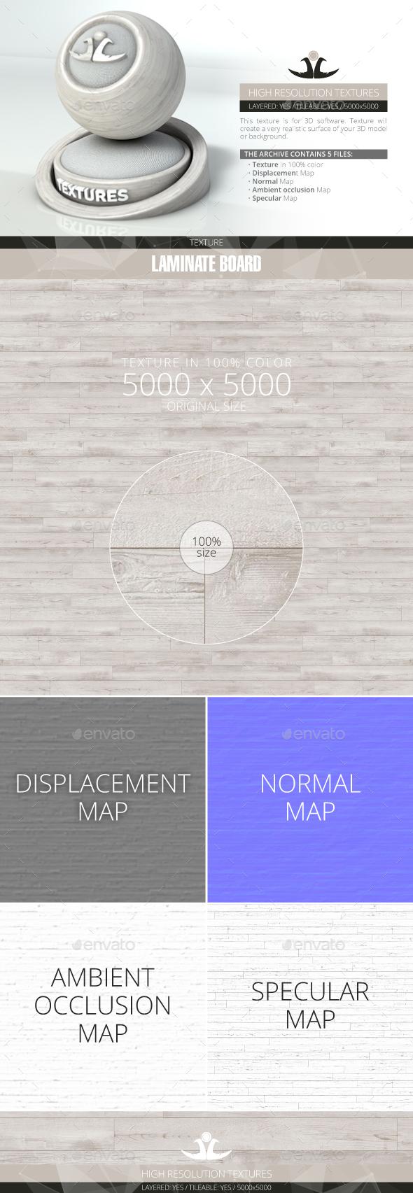 Laminate Board 79 - 3DOcean Item for Sale