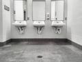 Clean simple public washroom sinks mirrors - PhotoDune Item for Sale