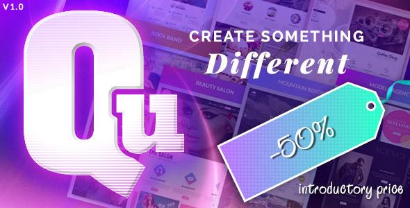 ThemeForest Qu The Creative Multipurpose WordPress Theme 17759297