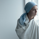 Breast cancer patient in blanket - PhotoDune Item for Sale