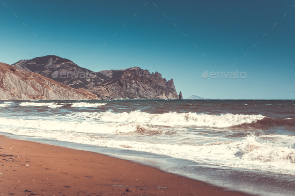beautiful sea landscape - Stock Photo - Images