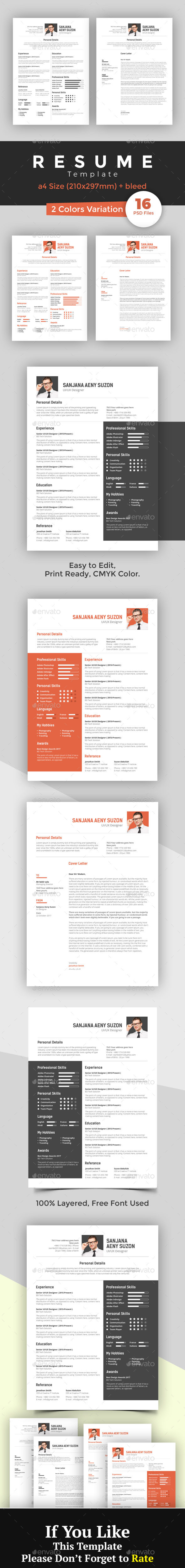 CV/Resume Template - Resumes Stationery