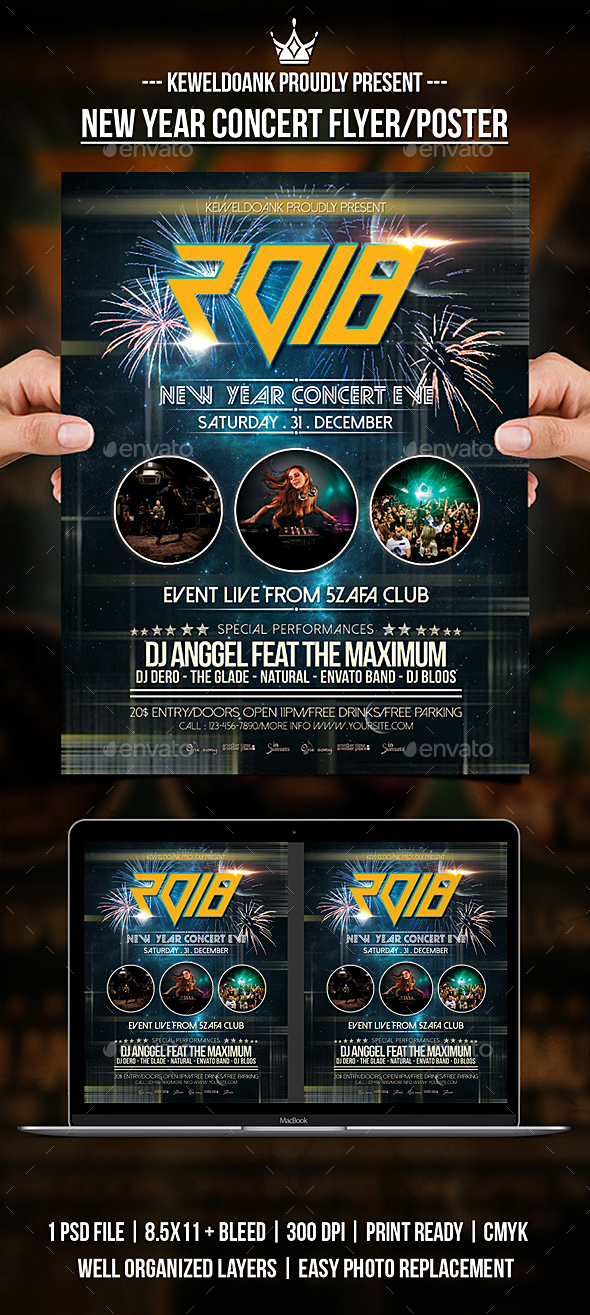 New Year Concert Flyer / Poster