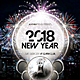 New Year Flyer / Poater - GraphicRiver Item for Sale