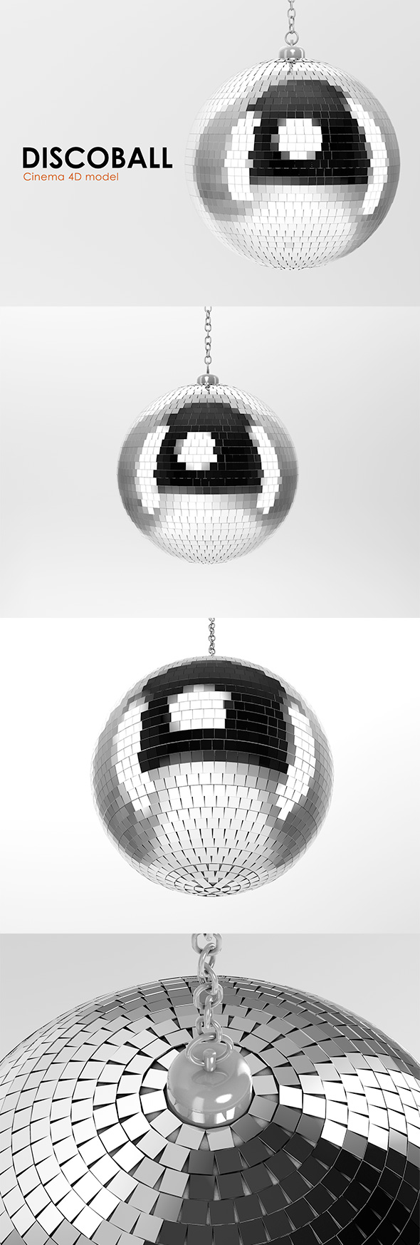 Discoball - 3DOcean Item for Sale
