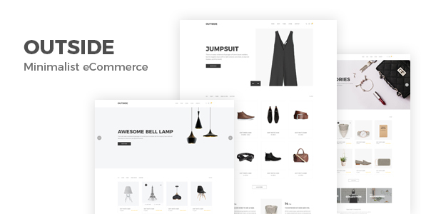 ThemeForest Outside Minimalist eCommerce Template 20875621