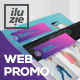 Trendy Minimalistic Web Promo - VideoHive Item for Sale