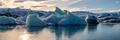 Glacier Lagoon, Iceland, Jökulsárlón - PhotoDune Item for Sale