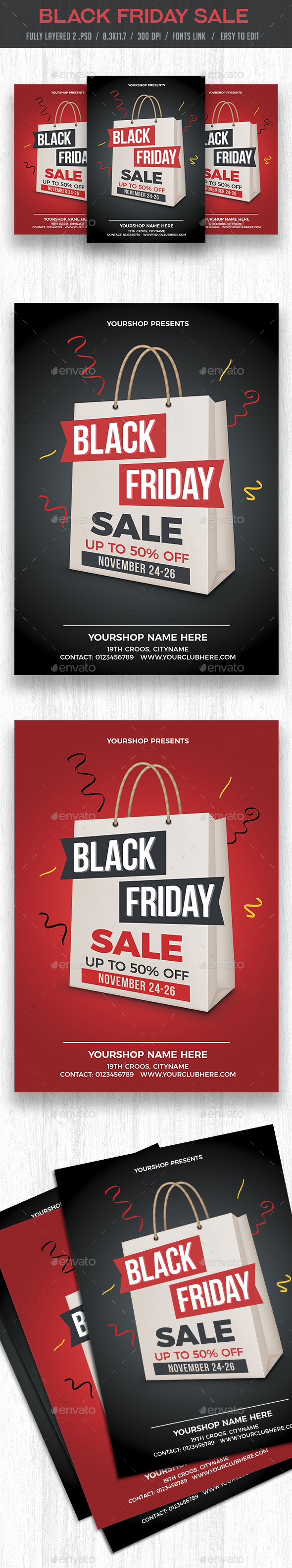 Black Friday Sale - Commerce Flyers