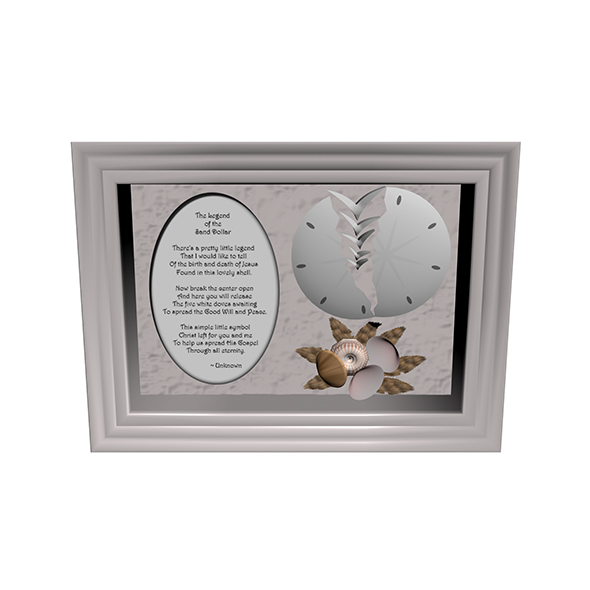 Sand Dollar Poem - 3DOcean Item for Sale