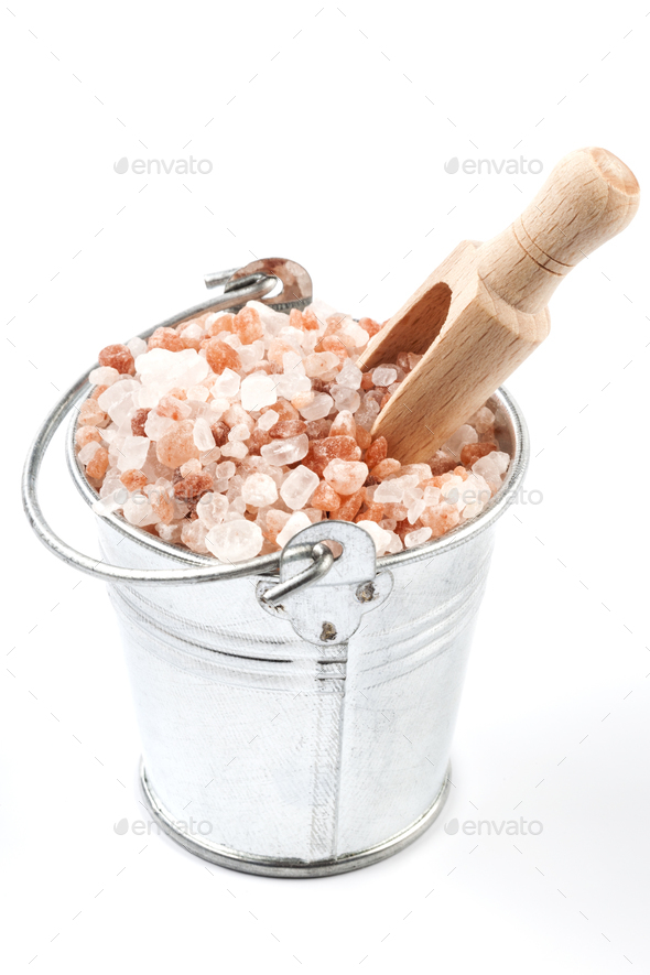 Isolated Salt in Bucket - Stock Photo - Images