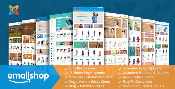 Image of EmallShop - Responsive Multipurpose Virtuemart Theme