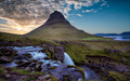 Kirkjufell Mountain Sunset, Iceland - PhotoDune Item for Sale