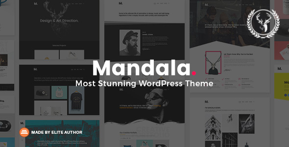 Mandala | Portfolio WordPress Theme Multi-Concept