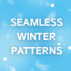 127 Winter Backgrounds - Large Pack of Seamless Patterns - GraphicRiver Item for Sale
