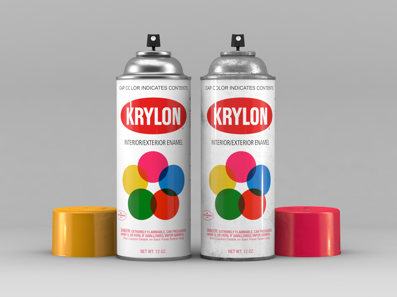 Krylon Spray Can