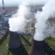Aerial View: Smoke From Heavy Industry Factory - VideoHive Item for Sale