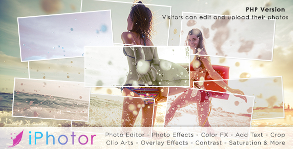 Source code              iPhotor – Photo Effects & Editor PHP            nulled