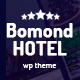 Bomond Hotel WordPress Theme - ThemeForest Item for Sale