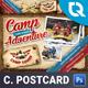 Camping Adventure Postcard