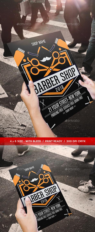Barber Shop Flyer Template - Commerce Flyers