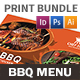 BBQ Restaurant Print Bundle