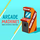 Arcade Machine (Sketch & Toon) - 3DOcean Item for Sale